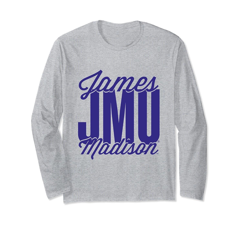 James Madison JMU Dukes Women's NCAA Long Sleeve 46jmu-1-ah my shirt one gift