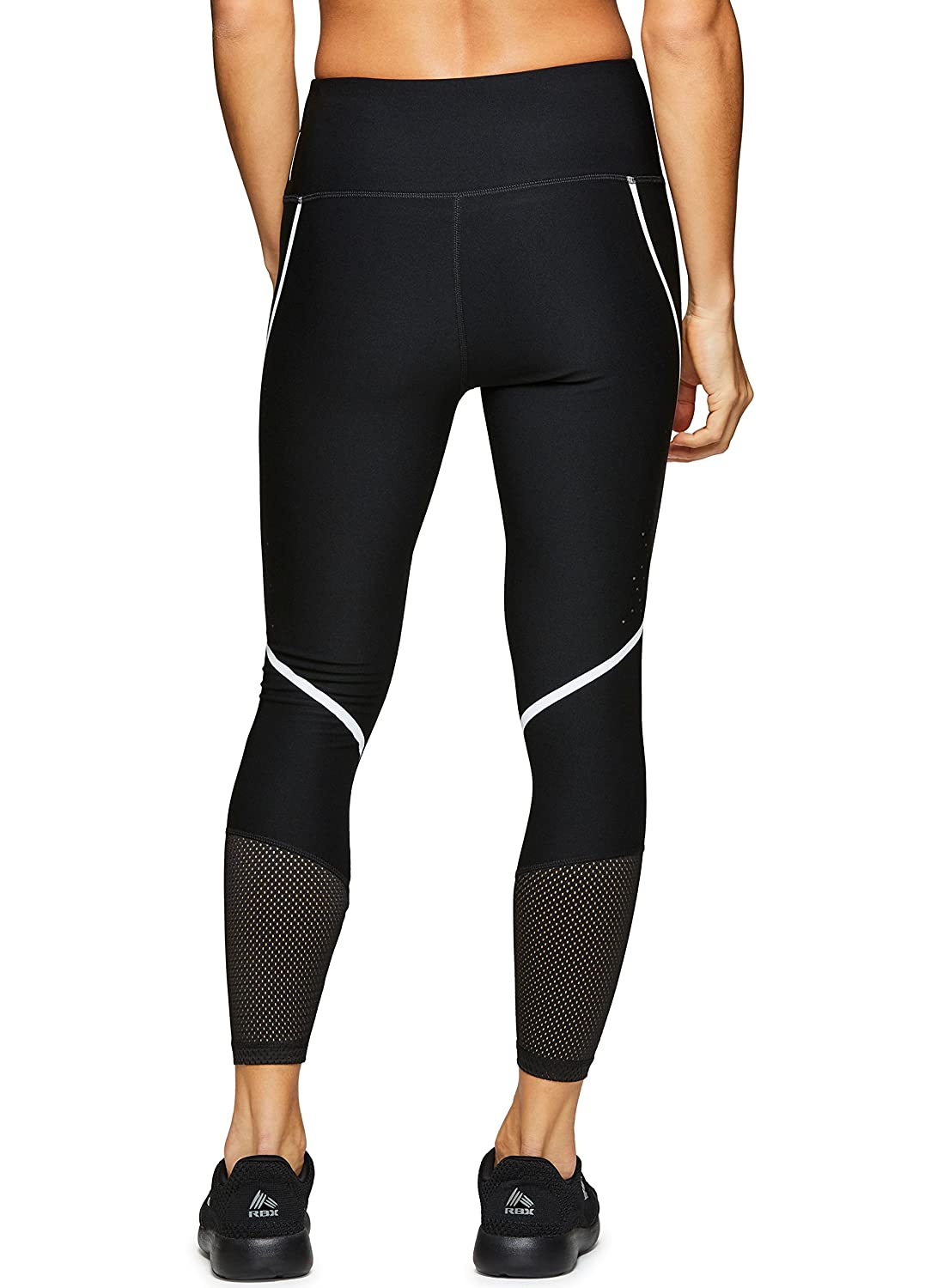 RBX Active Womens Workout Yoga 7//8 Ankle Legging with Side Detail