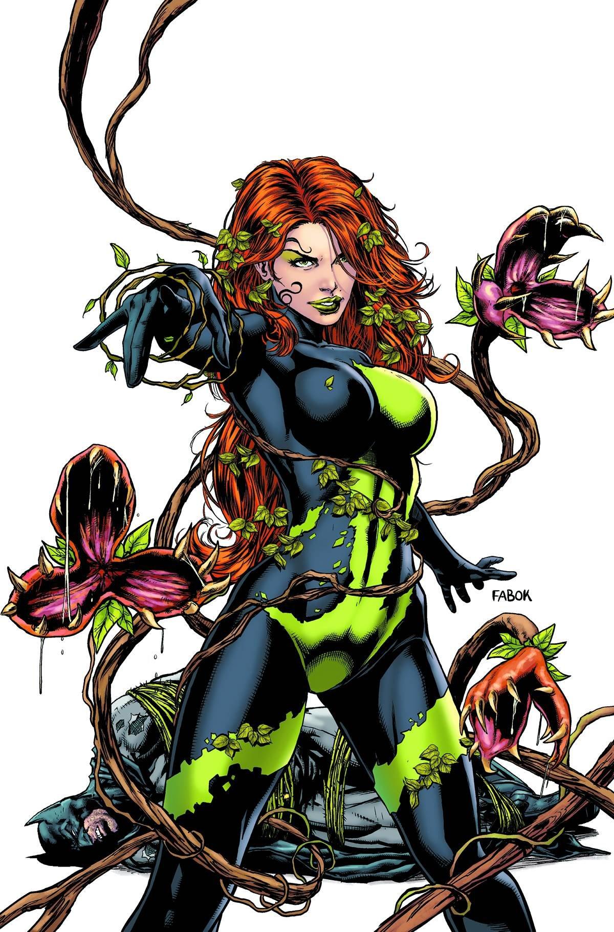 Read Online Detective Comics #23.1 Poison Ivy (3D Cover) PDF