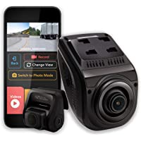 Rexing V1P 3er Generación Dual 1080p Full HD Frontal y Trasera Gran Angular de 170 Grados Wi Fi Dash Cam para Auto con…