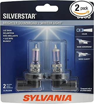 High Beam Contains 1 Bulb Low Beam and Fog Replacement Bulb SYLVANIA High Performance Halogen Headlight Bulb 9007 XtraVision