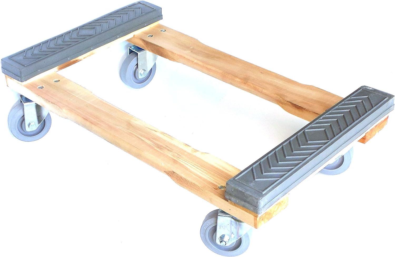 Roll Mini Small Wood cm.22 Swivel Bomboniere School STENDIPASTA wheel