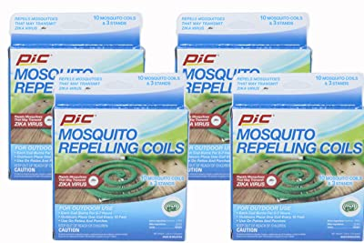 PIC Mosquito Repellent Coils 10 Each