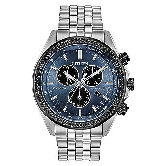 Amazon Com Citizen Watches Men S Bl5568 54l Brycen Silver