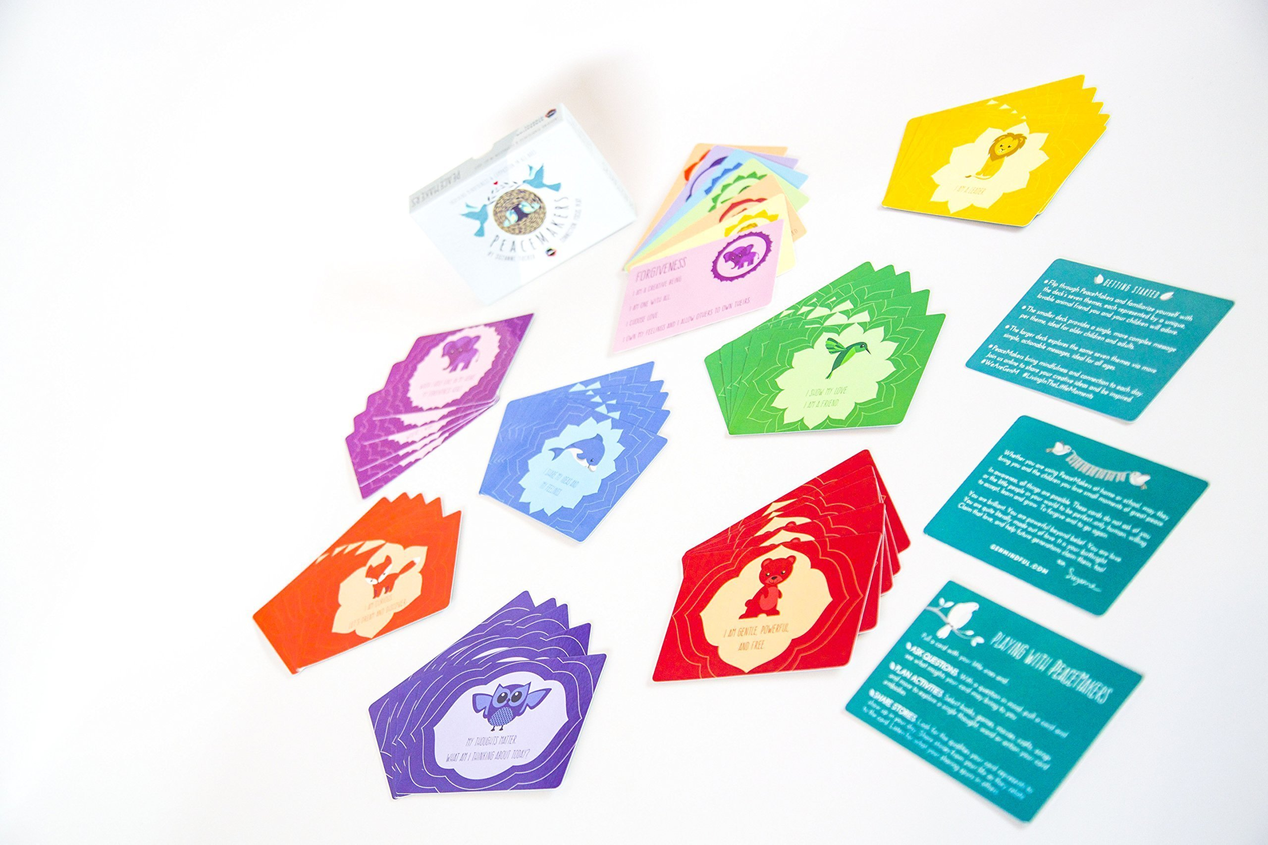 PeaceMakers: A Mindfulness Card Game For Kids That Builds Social Emotional Skills