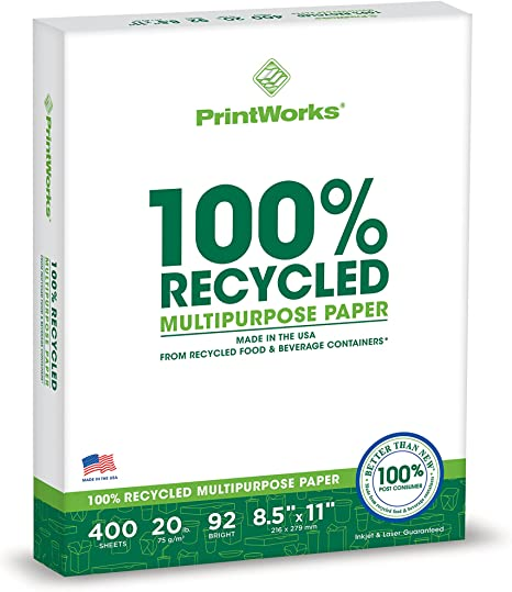 Amazon.com: Printworks papel multifunción 100 ...