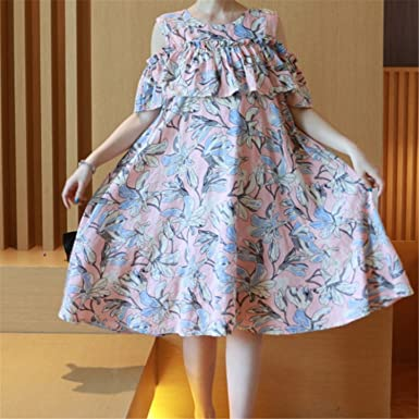 KDHJJOLY Comfortable 2016 Maternity Clothes Summer Women Pregnant Dress Off Shoulder O Neck Vestidos Embarazadas Fashion