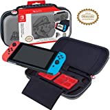 Officially Licensed Nintendo Switch Super Mario Carrying Case - Protective Deluxe Hard Shell Travel Case with Adjustable View