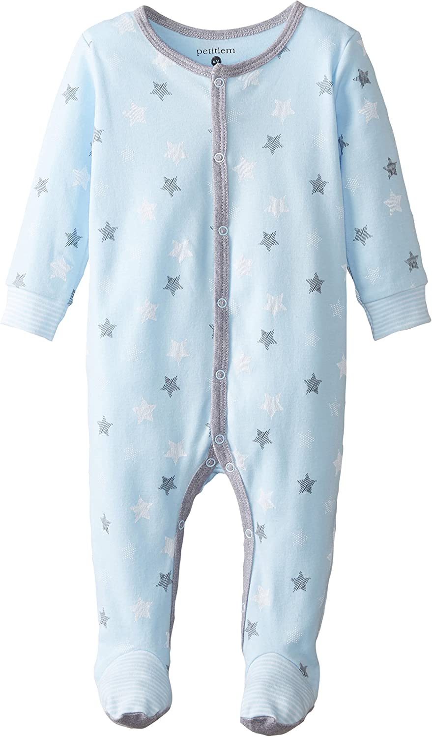 Petit Lem Unisex Baby Footed Sleeper