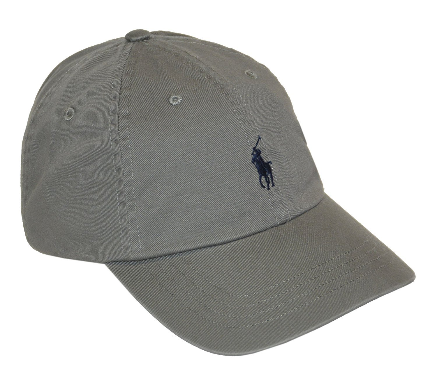 Polo Ralph Lauren Men\u0027s Pony Logo Hat Cap, College Grey One Size Adjustable