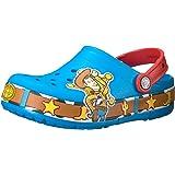 Crocs 儿童男孩和女孩玩具总动员木迪发光洞鞋