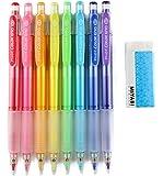 Pilot Color Eno Mechanical Pencil, 0.7mm, 8 Colors, MIYABI eraser set (HCR12R-8C/MB-Blue)