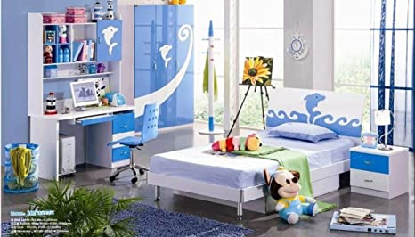 Amazon.com - Kids Room Furniture Set Contemporary Design ...