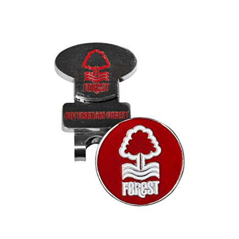 9e891cf4d08 Nottingham Forrest F.c. Hat Clip   Marker Official Football Fan Golf Gear  Gift