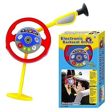 promo code 4e721 101a7 Elettronico Backseat Guida Gioco Bambini Volante Vera Noises ...