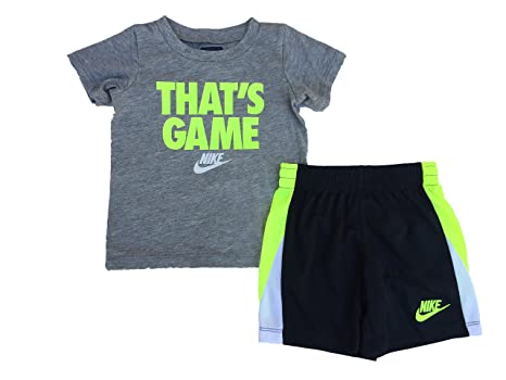 b31e8276a Image Unavailable. Image not available for. Color: NIKE Toddler Boys' Dri  Fit Short Sleeve T-Shirt ...