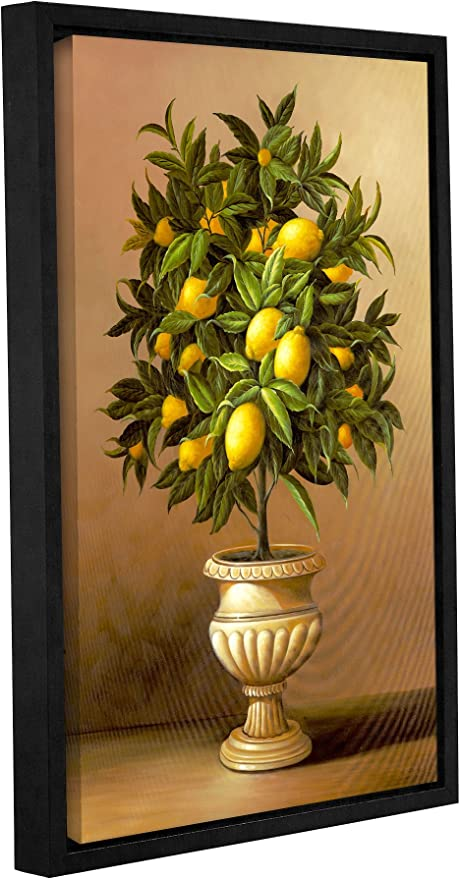 Amazon Com Welby Potted Lemon Tree Removable Wall Art Mural 16x24 Posters Prints