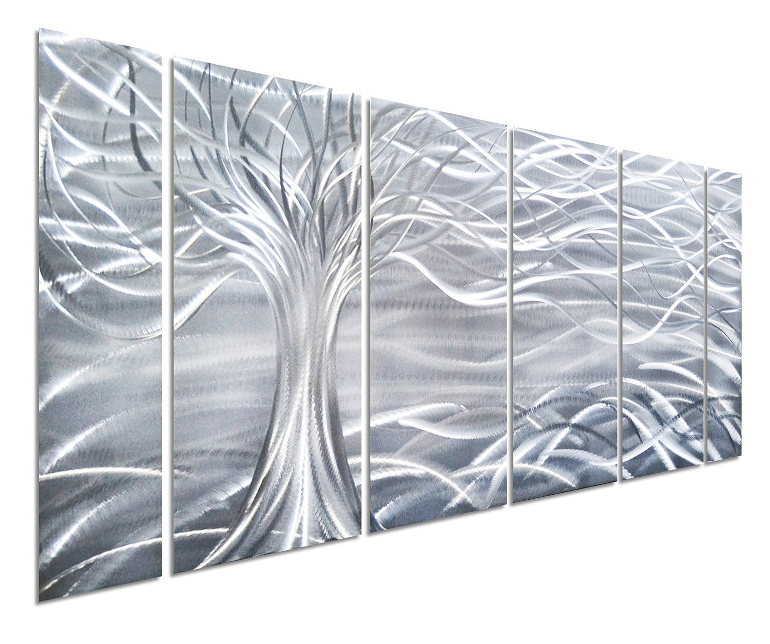 Amazon.com: Pure Art Willow Tree of Life Metal Wall Art, Abstract ...