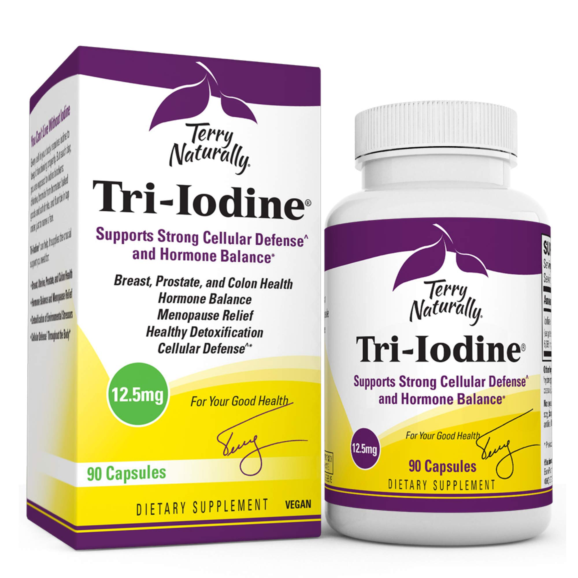 Terry Naturally Tri-Iodine 12.5 mg