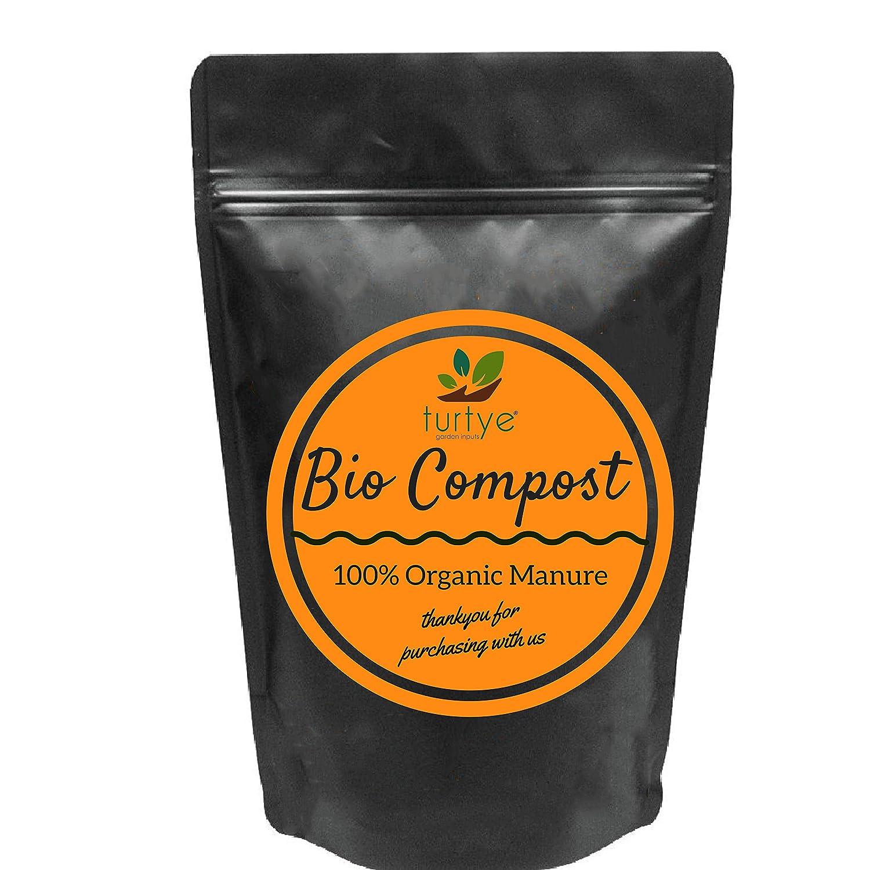 Turtye Bio Compost - 15 Kg's - Organic Fertilizer for Home Plants