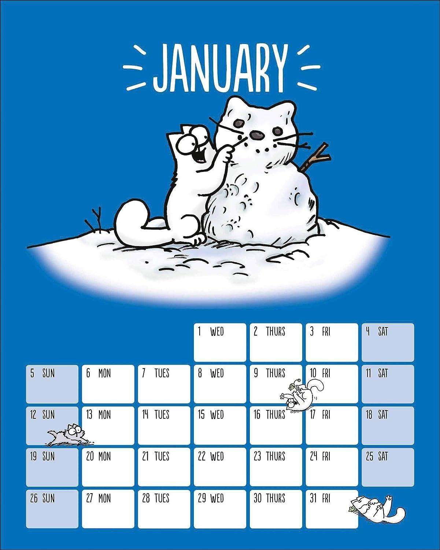 - Calendario umoristico 2020 Simon Tofield OTH-105705 illustrato da Simon Tofield