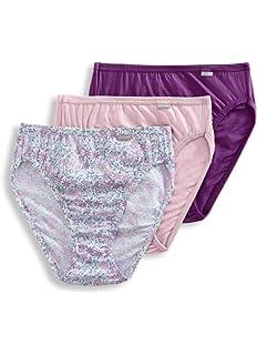 7bee96d76d6 Jockey Women's Underwear Plus Size Elance Bikini - 3 Pack at Amazon ...