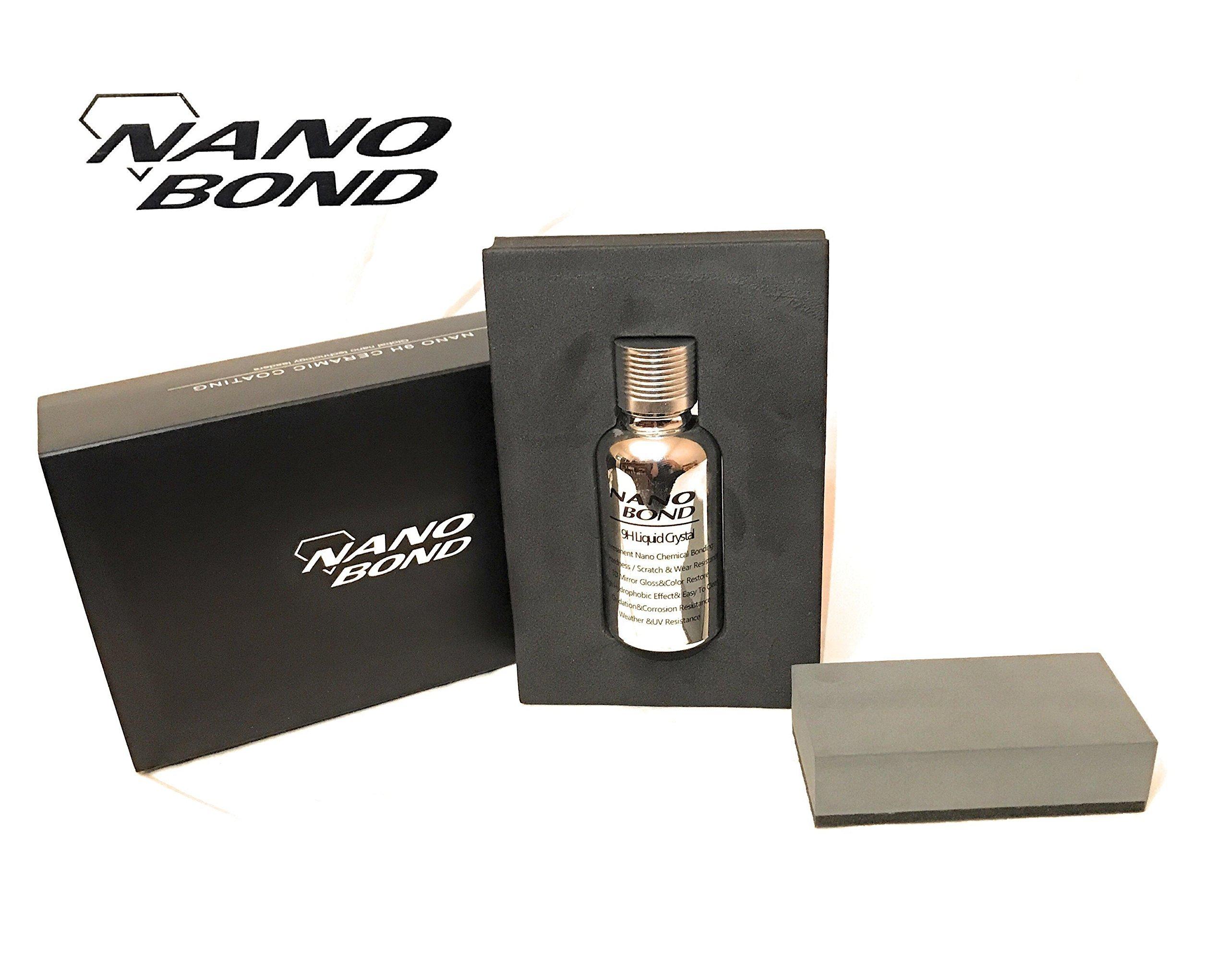 Nano Bond Ceramic Coating Car Care Kit 9H High Gloss Paint Protection 30ML