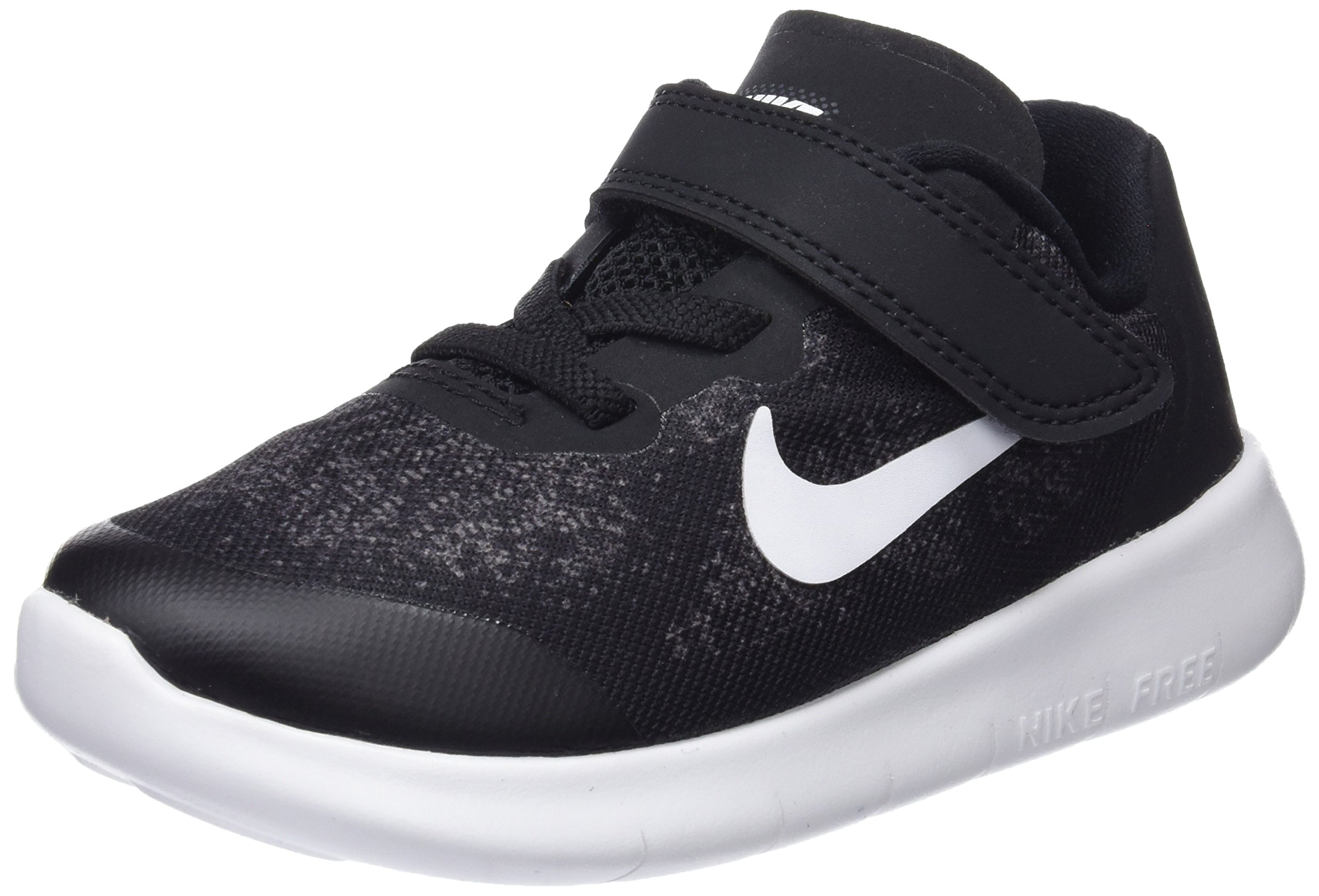 Nike Boys Free RN 2017 (TDV) Toddler Shoe (6 M US Toddler) Black