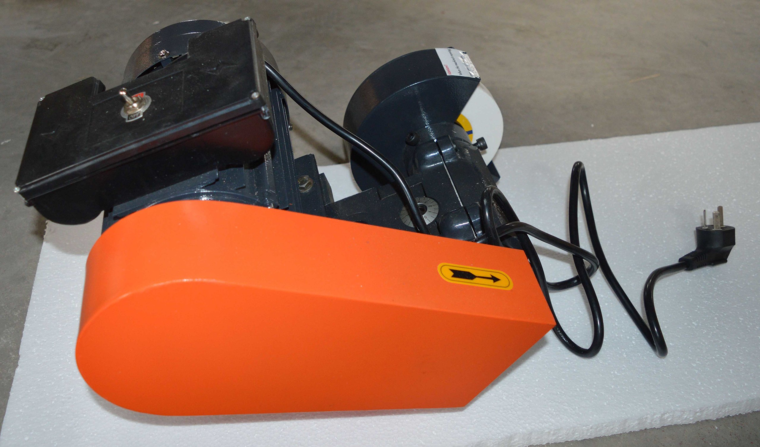 220V Lathe Tool Post Grinder Internal and External Sharpener Grinding Machine 1100W