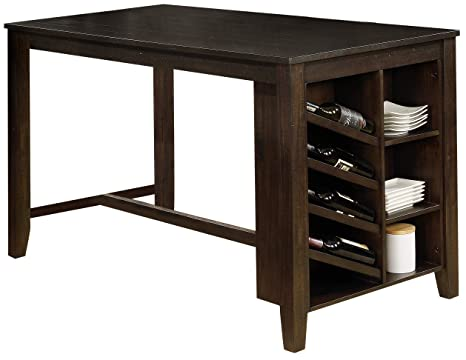 Amazon Com Best Quality Furniture D51t 1 Counter Height Table