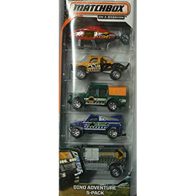 Matchbox Dino Adventure 5-pack: Toys & Games