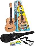 "eMedia My Guitar Beginner Acoustic Guitar Pack for Kids, 3/4 Size, 34"""
