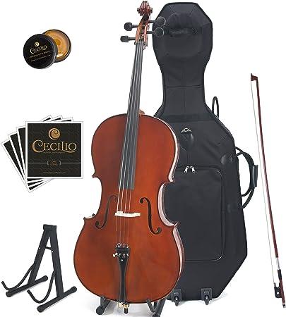 Cecilio CCO-500 Solid Wood Cello
