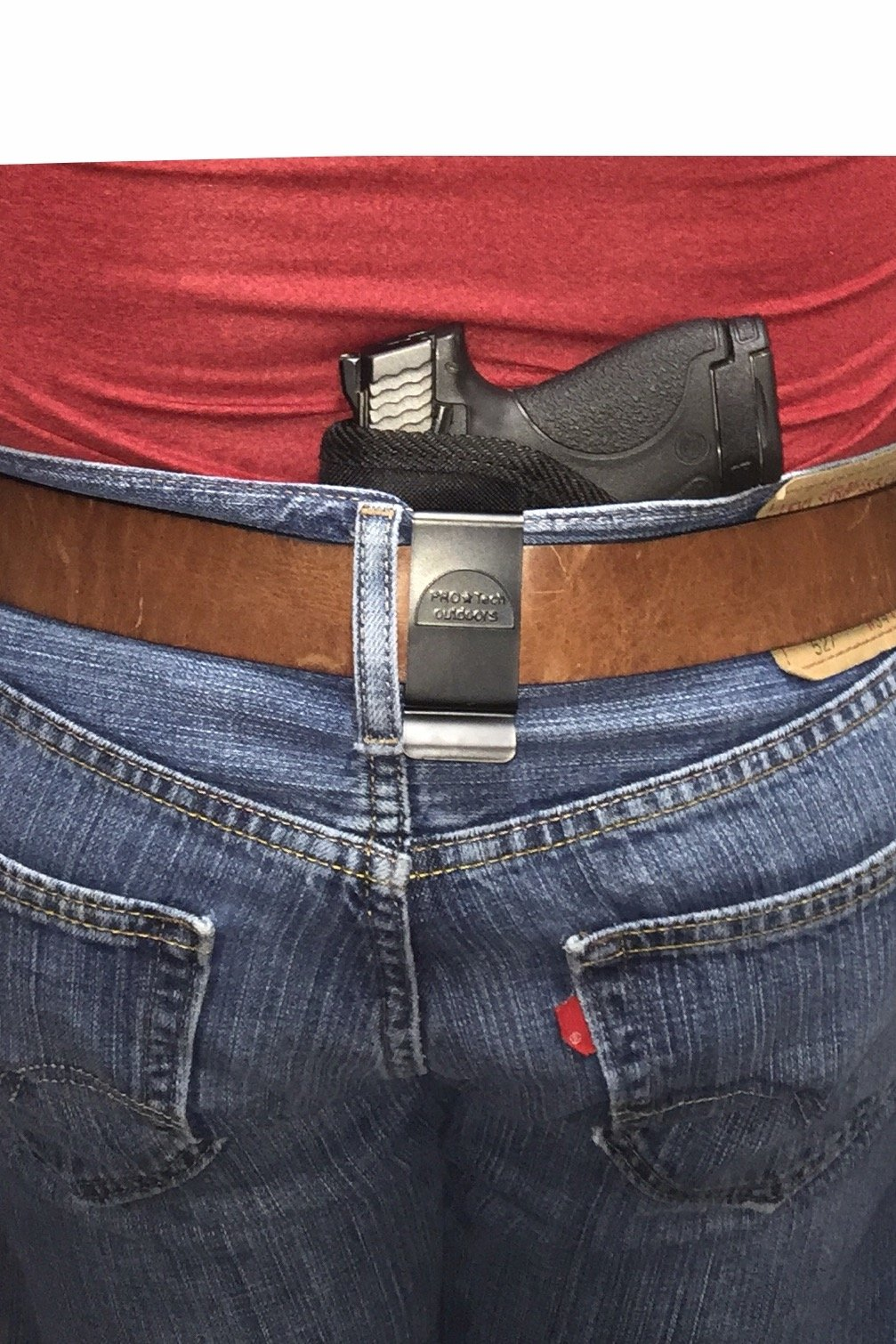 Pro-Tech Outdoors Concealed In the Pants/waistband Holster Fits Glock 17,19,20,21,22,23,25,26,27,28,29,30,31,32,33,36,38,39,40,41,42 by Pro-Tech Outdoors (Image #1)