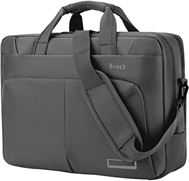Brinch Unisex 15-15.6 Inch Laptop Messenger Bag with Accessory Bag for Apple ...