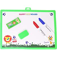 Parteet Educational Big Two in One Writing Board with White and Black Board for Kids