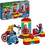 LEGO DUPLO Super Heroes Lab 10921 Marvel Avengers Superheroes Construction Toy