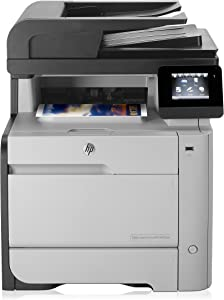 HP M476dn Color Photo Printer with Scanner, Copier and Fax, Amazon Dash Replenishment ready (Discontinued By Manufacturer), (CF386A) (Certified Refurbished)