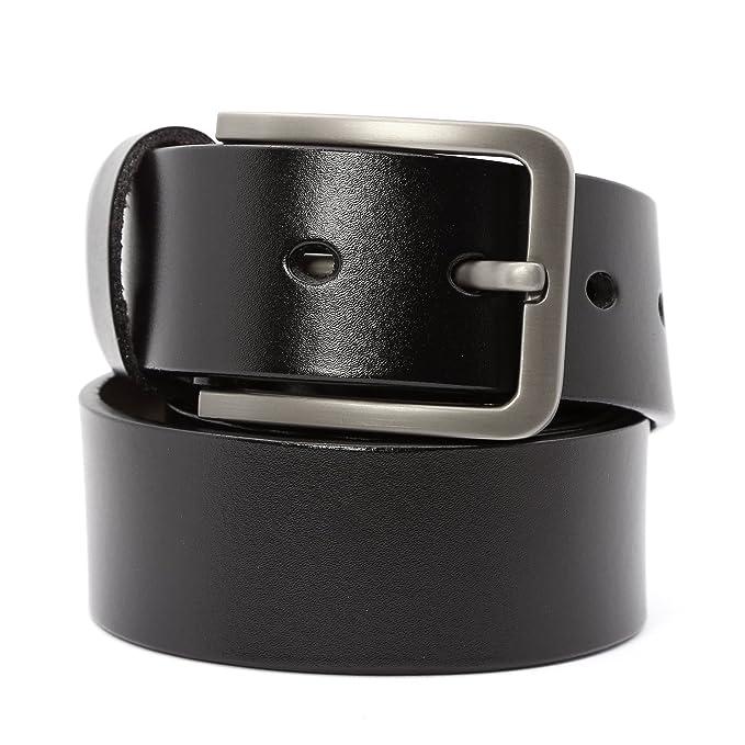 Ceinture homme en cuir avec boucle d ardillon ceinture Simple exquis  ceinture chic Largeur 3.8cm  Amazon.fr  Vêtements et accessoires ca1b10a4286