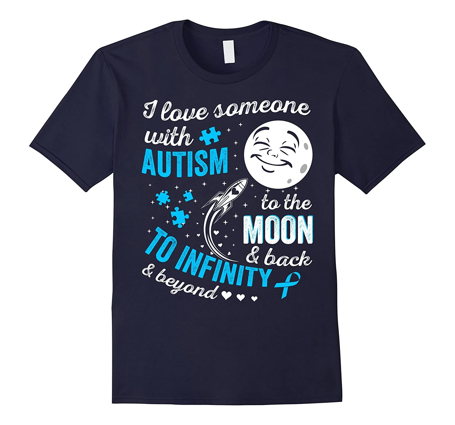 Autism Awarenes Shirts - Autism Products Team - MomDadKid-TH