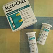 Accu Chek Active 100 Strips 50x2 Multicolor Amazon