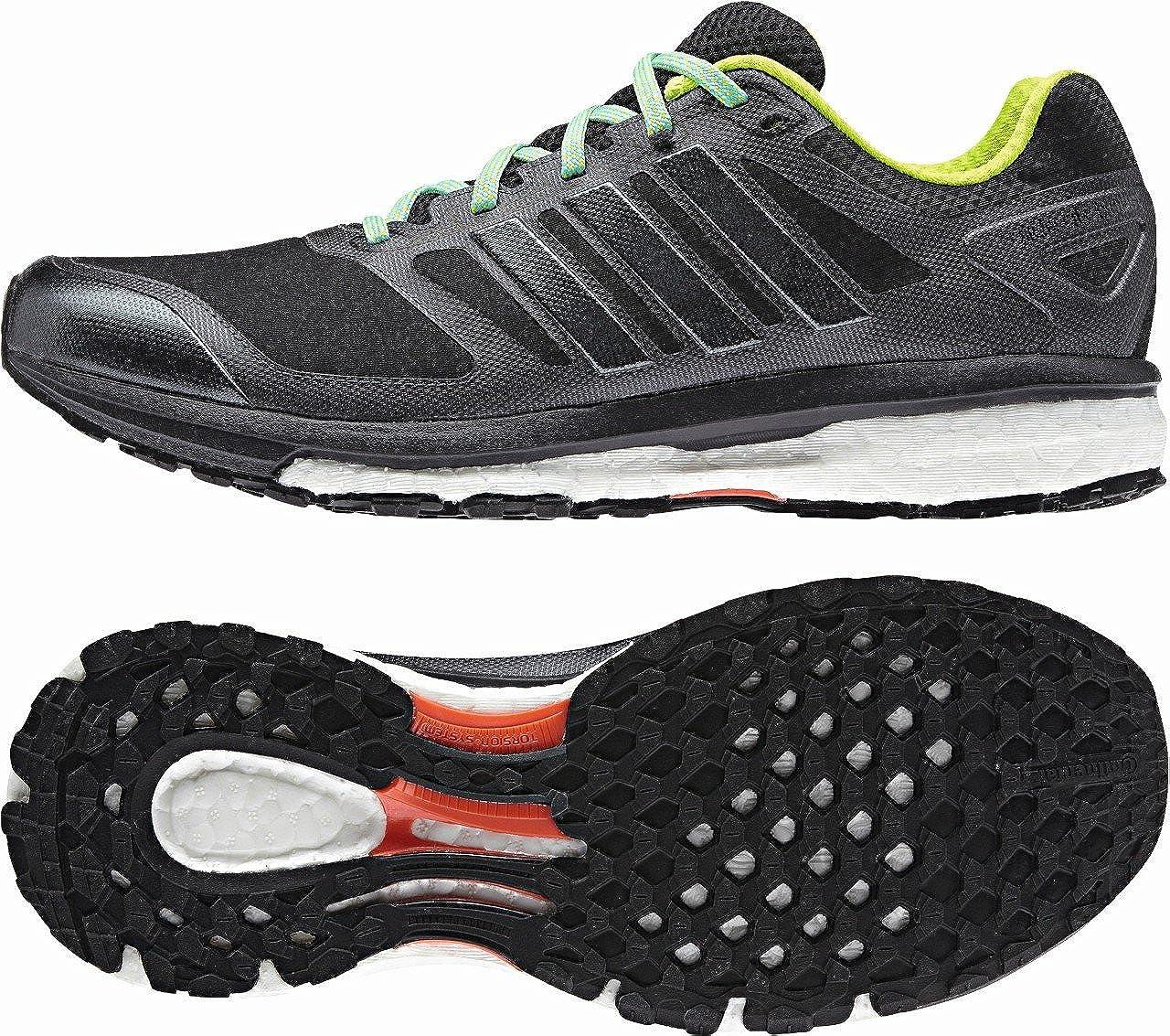 Adidas Supernova Glide Boost ATR - Zapatillas de running para mujer, color negro y verde: Amazon.es: Zapatos y complementos