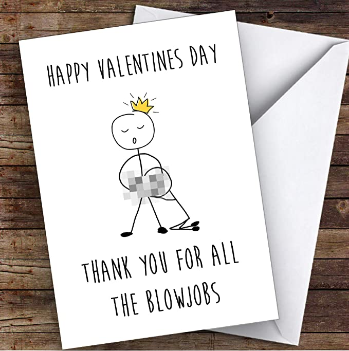 Valentine Card Rude Happy Valentine/'s Day 3D Popup Dick Penis Card Adult Greeting Card Mature Funny Valentine/'s Card for Him or Her