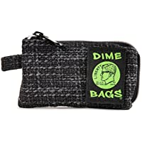 Dime Bags Padded Pouch with Soft Padded Interior   Protective Hemp Pouch for Glass with Interior Smell Proof Pocket…