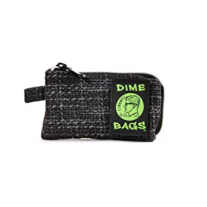 Padded Pouch - Soft Interior with Secure Heavy-Duty Zipper (5-Inch) (Black)