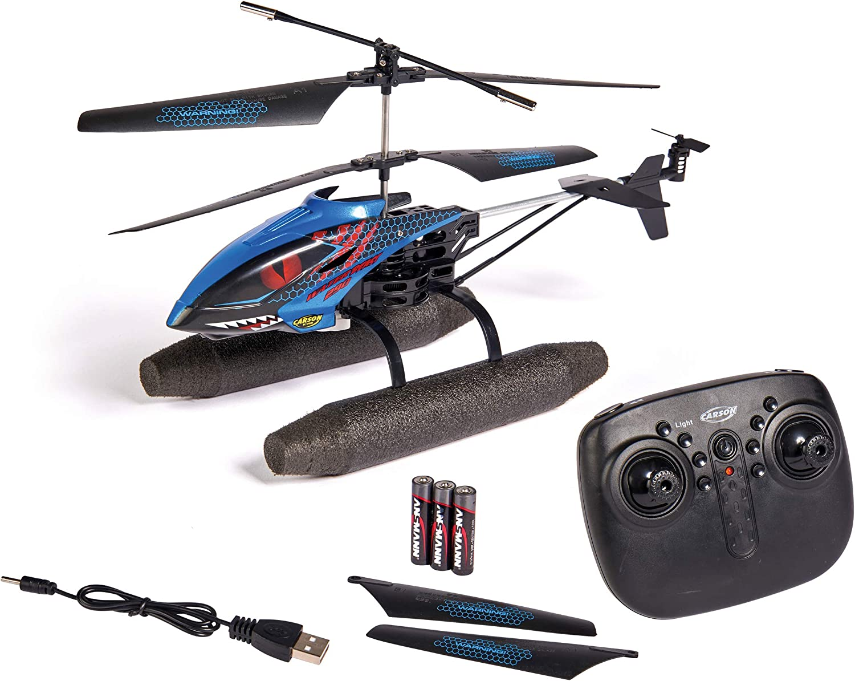 Carson 500507148 Easy Tyrann 290 Waterbeast – Ferngesteuerter Outdoor Helikopter