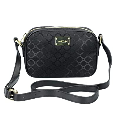 5844f03f8fd6b Marc Cain +B TI.07 W01 900 Damen Tasche Verstellbarer Riemen aus  Textilmaterial