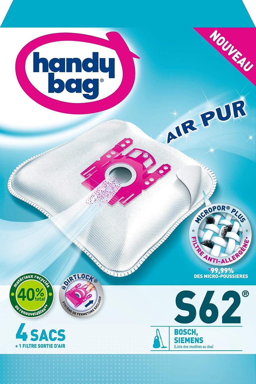 Amazon.com: Vinyl Bag S62 Vacuum Cleaner Bags for Bosch BBS ...