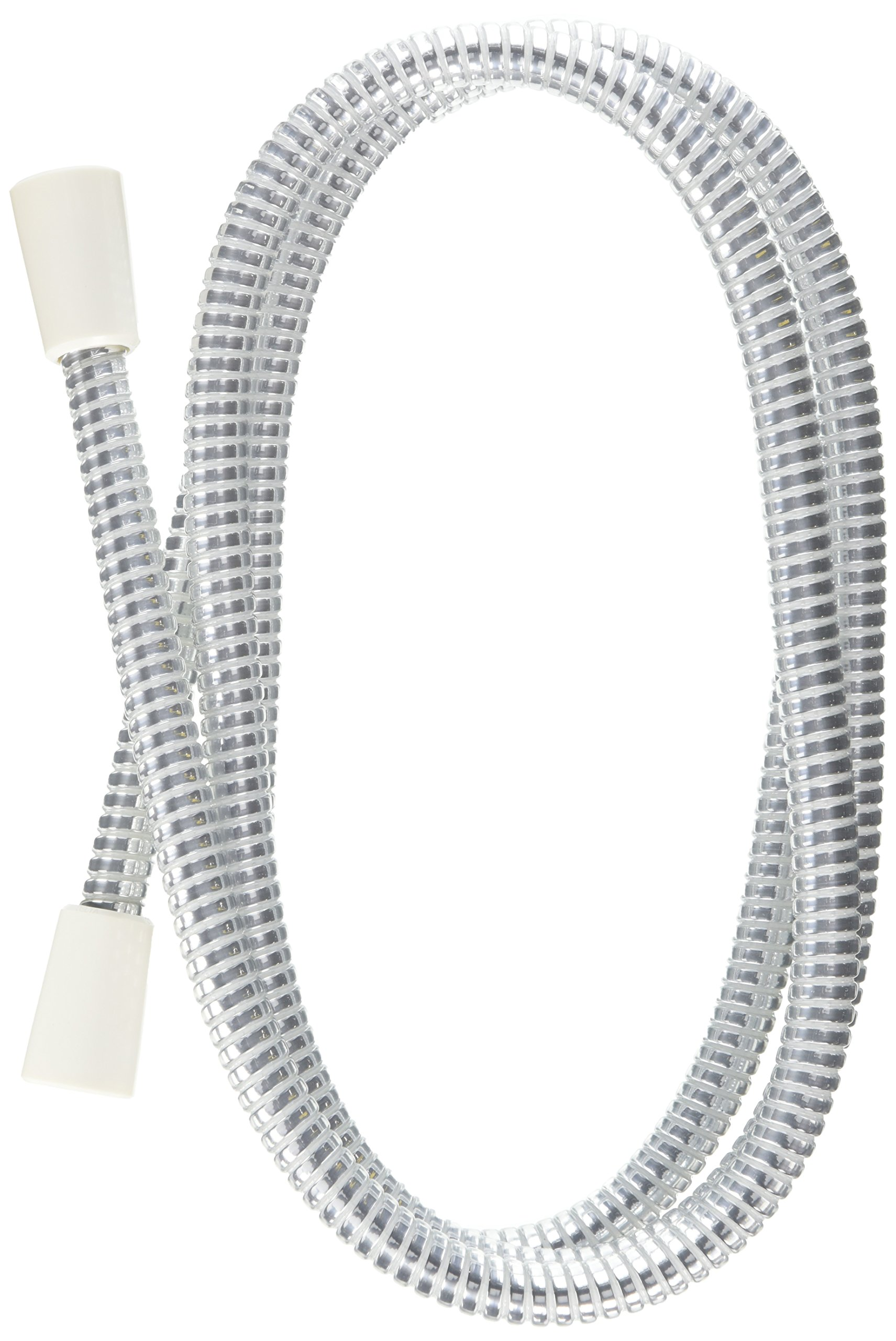 Delta Faucet 75006140 with 86-Inch UltraFlex Hose, Chrome/White