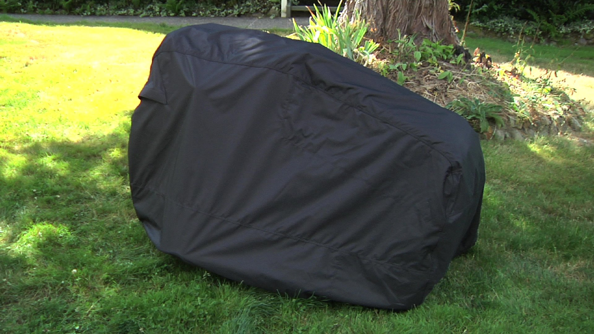 Classic Accessories Deluxe Riding Lawn Mower Cover, Up to 54'' Decks